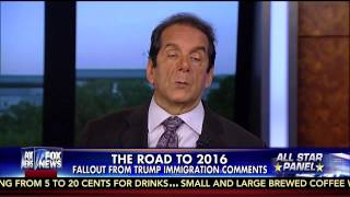 charles krauthammer donald trump is a rodeo clown who hurts conservatism