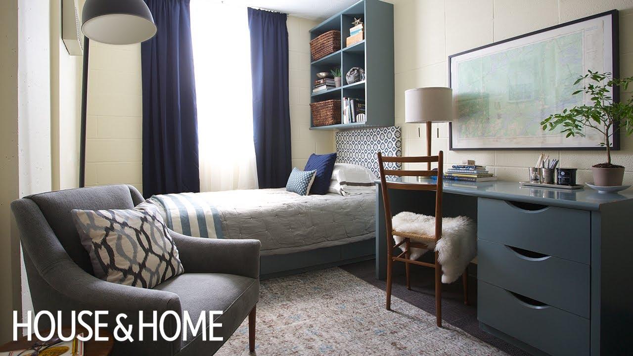 Interior Design  Genius Dorm Room Decorating Ideas - YouTube