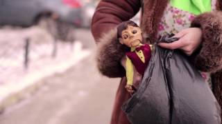 Doll named Mommy. Short film. Кукла Мама. Режиссер Костя Михно