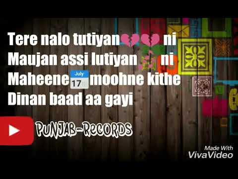Teeje Week(Lyrical video) Jordan Sandhu The Boss latest punjabi song