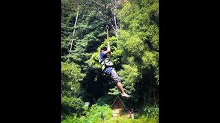 Zipline at Che Adventure Park - SriLanka