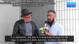Must Watch - Christian Converts to Islam | 'LIVE' Street Dawah