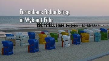 Ferienhaus Rebbelstieg Ferienwohnung Wyk auf Föhr