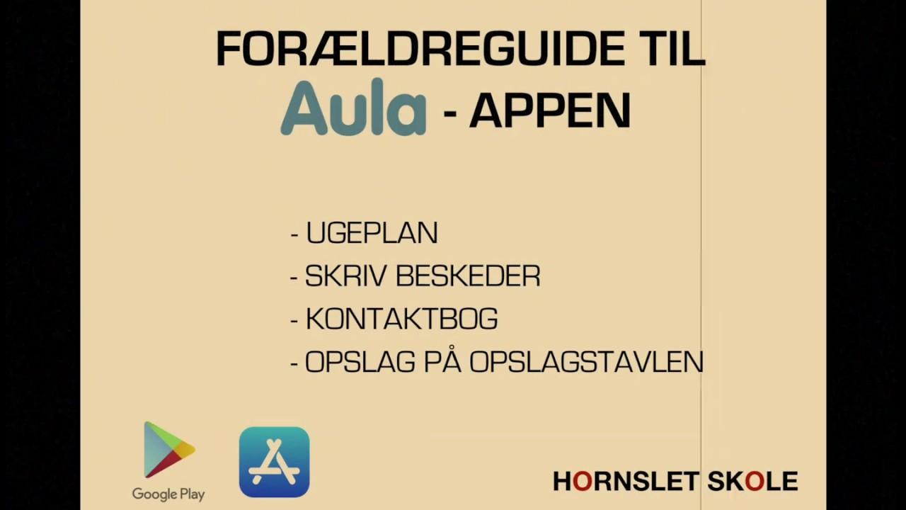 AULA-app forældreguide