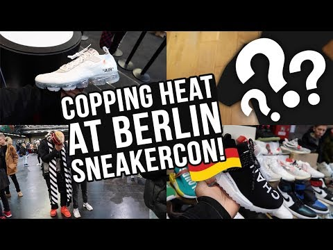 BUYING RARE SUPREME & MORE HEAT AT BERLIN SNEAKERCON - VIVIAN FRANK