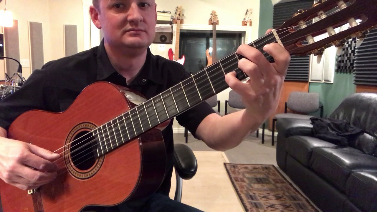 Abide With Me Guitar Arrangement By Ryan Tilby Youtube