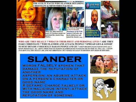 Slander Attack from WOTW radio MISS PATRICIA HAGEMANN & LARRY DAVENPORT