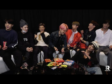 HALSEY crashes our BTS  to give the scoop on their BBMAs performance