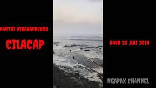 Download Ombak besar menerjang pantai widara payung cilacap Mp3 and Videos