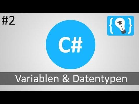 Download C# Tutorial Deutsch / German [2/20] - Variablen und Datentypen
