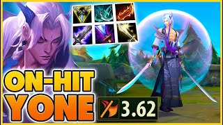 *53 Kills* Tanks Die in 1 Second (Insane Yone Build) - BunnyFuFuu | League of Legends