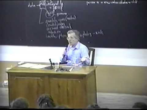 Noam Chomsky speaks abut Cognitive Revolution - Part 5