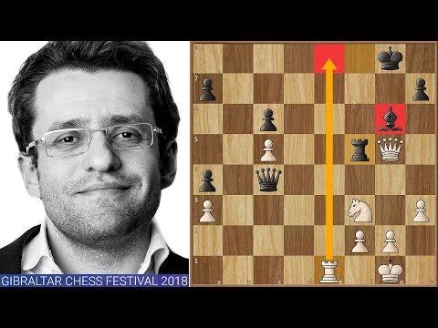 Levon Aronian Wins Tradewise Gibraltar Chess Festival 2018! Insane Game in Tiebreaks