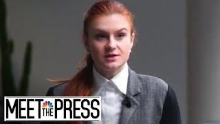 Michael Isikoff: Maria Butina 'Kept Showing Up' At GOP Events (Full) | Meet The Press | NBC News