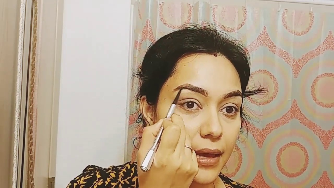 How to use eyebrow pencils for beginners - YouTube