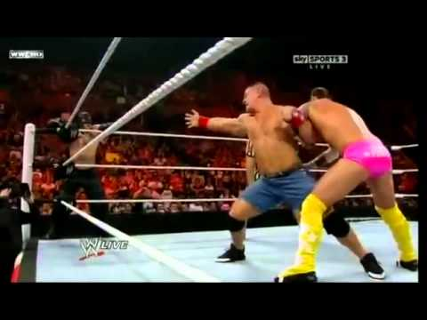 John Cena & Rey Mysterio Vs CM Punk & R Truth 5 23 11