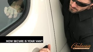 Vanlife Safety   How to secure your CRLaurence T-vent windows