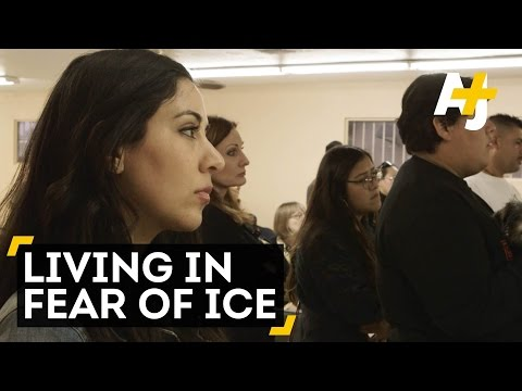 Undocumented And Living In Fear Of ICE
