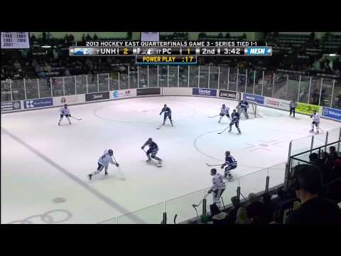 New Hampshire at Providence - Hockey East Quarterfinals - 3/17/2013