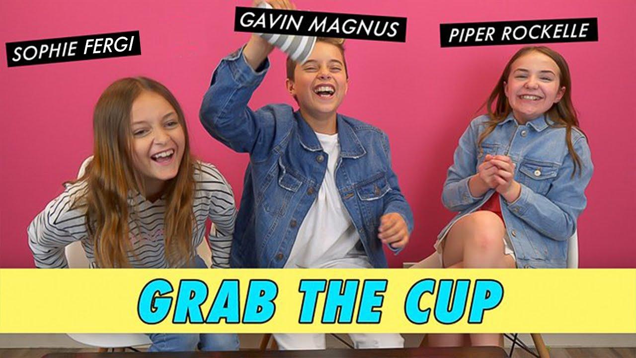 Sophie Fergi Gavin Magnus Piper Rockelle Grab The Cup Youtube