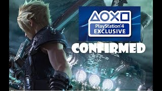 BoomStick RANT: IS Final Fantasy VII a PS4 Exclusive, Square/Enix Isn't Telling!!