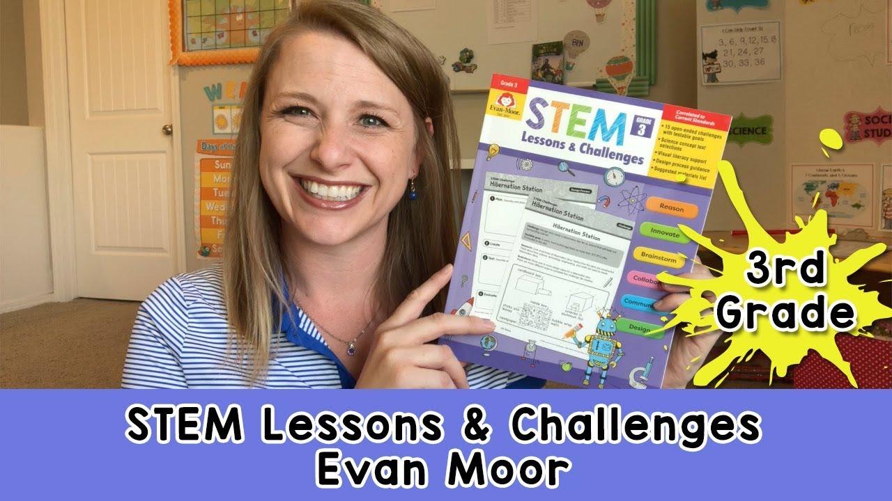 STEM Lessons & Challenges || 3rd Grade Evan Moor
