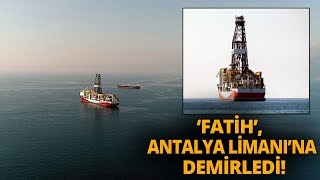 trkiyenin doalgaz ve petrol arama gemisi fatih akdenizde