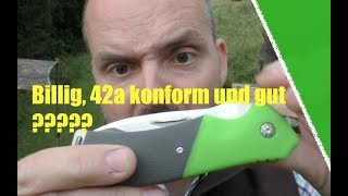Billiges 42a konformes Klappmesser
