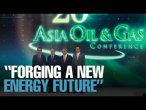NEWS: Tun M Calls For New Energy Solutions Partnerships