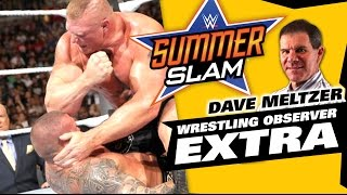 Dave Meltzer WWE SummerSlam 2016 Reaction | The LAW