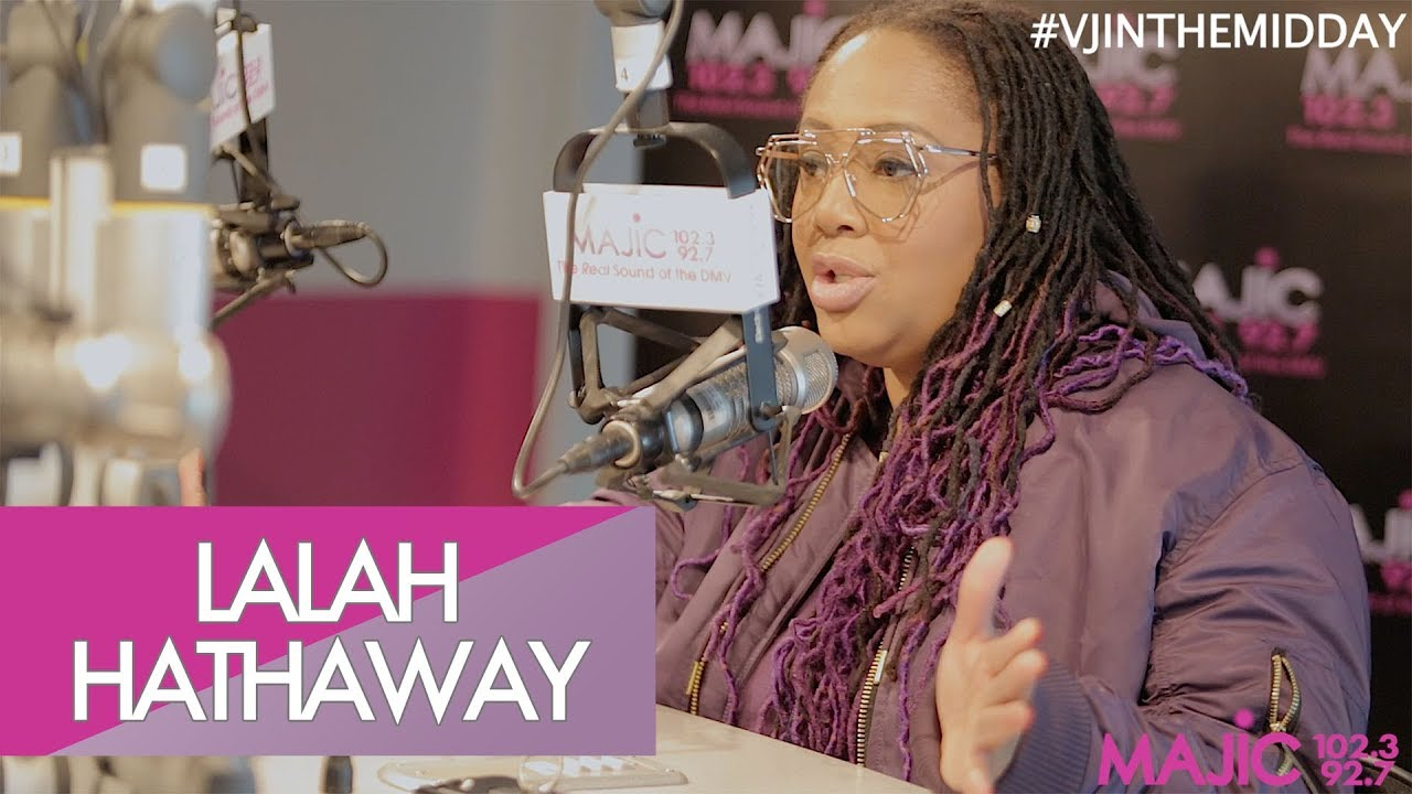 Lalah Hathaway | New Album Speaks On Her Relationship With The U.S.?