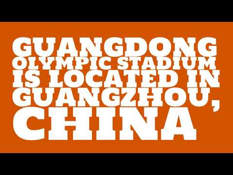 Where is Guangdong Olympic Stadium?