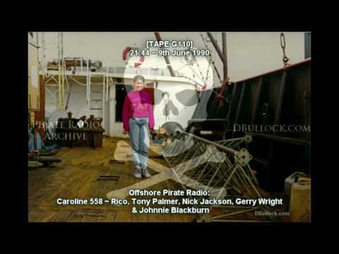[G110] Caroline 558 ~ 09/07/90 ~ Offshore Pirate Radio