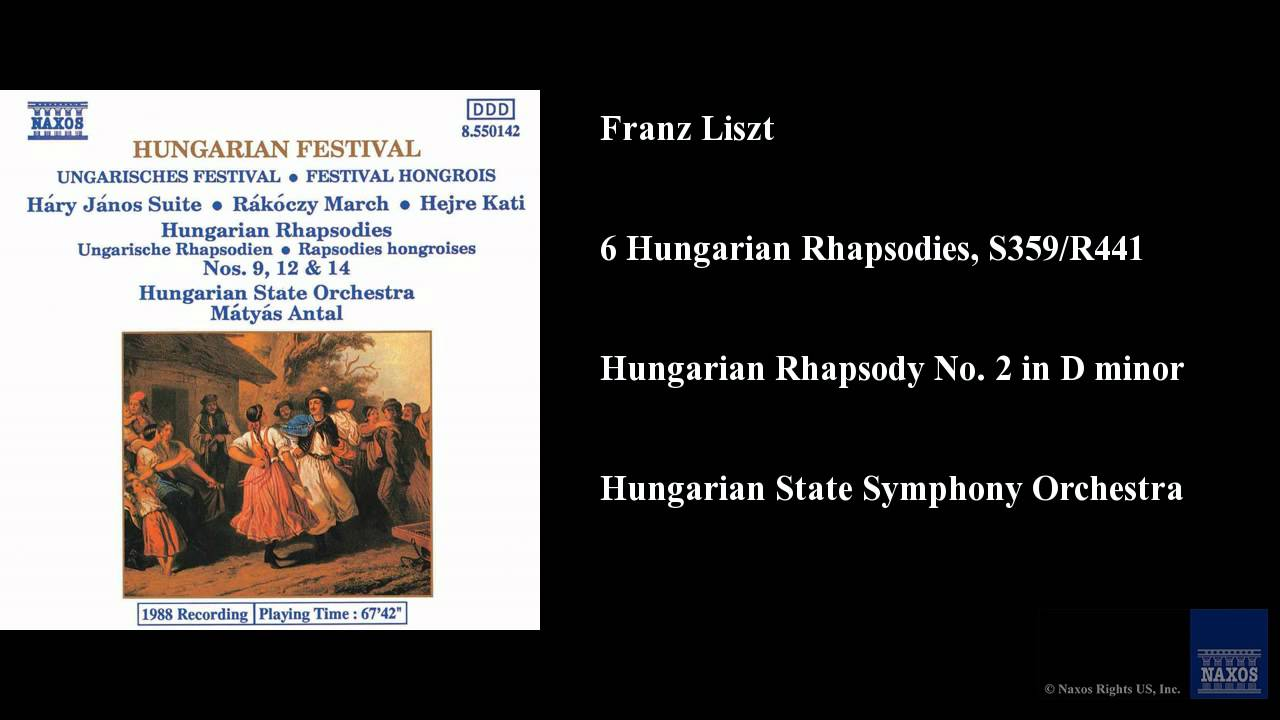 Franz liszt hungarian rhapsody no 6