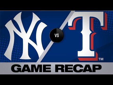 Lynn Fuels Rangers' Last Win At Globe Life Park | Yankees-Rangers Game Highlights 9/29/19