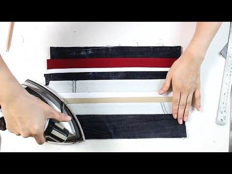 EJ-Up cycle 99/Making Striped bag/가방 만들기  줄무늬 가방/DIY BAG SEWING TUTORIALDIY/CRAFTS/MAKE A BAG