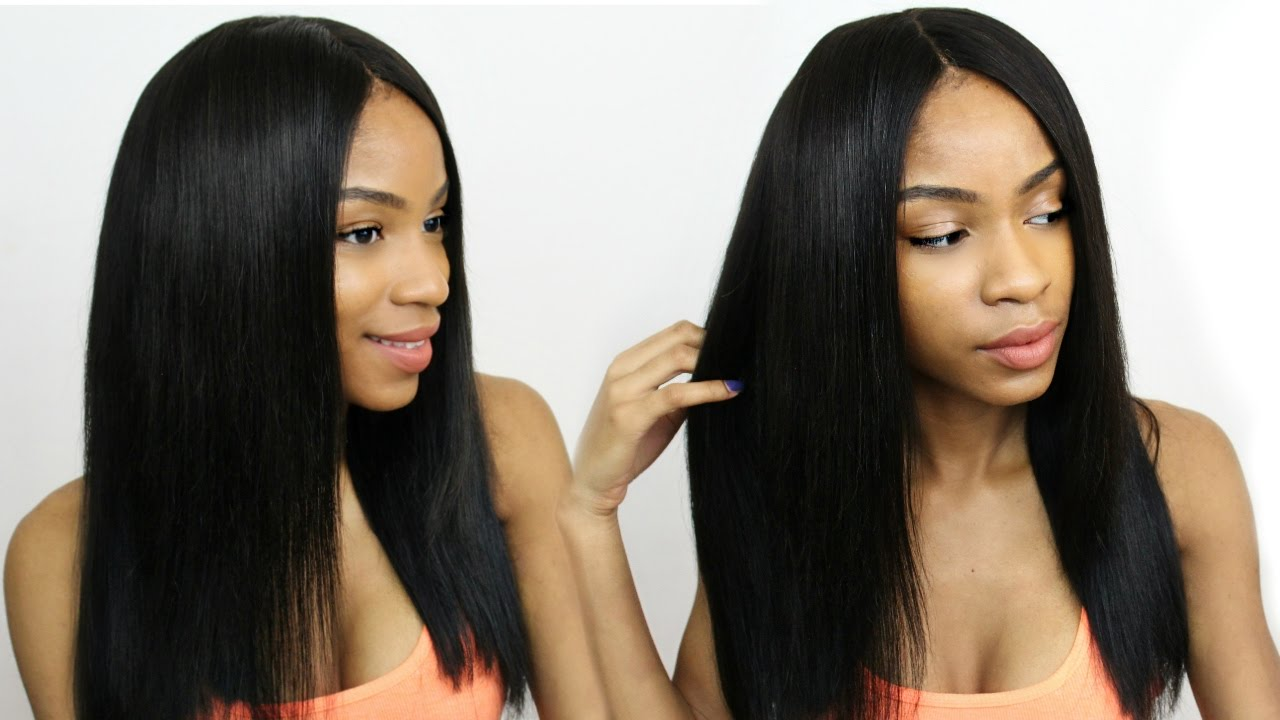Middle Part Wig Making Ft Beauty Supply Store Closure By Outre