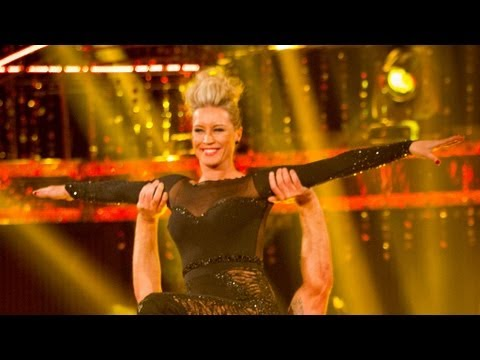 Denise Van Outen & James dance to 'What A Feeling'  Strictly Come Dancing 2012 Final  BBC