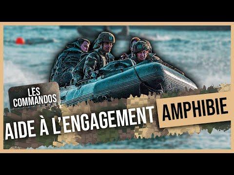Les commandos - le groupement daide à lengagement amphibie