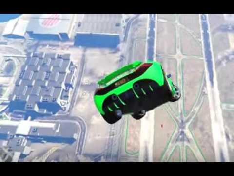 BIGGEST GTA SKY DROP! (GTA 5 Funny Moments)