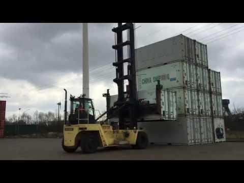 Norgatec, Leasing Leer-Containerstapler Hyster H22.00XM-12EC