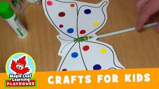Butterfly Craft for Kids | Maple Leaf Learning Playhouse