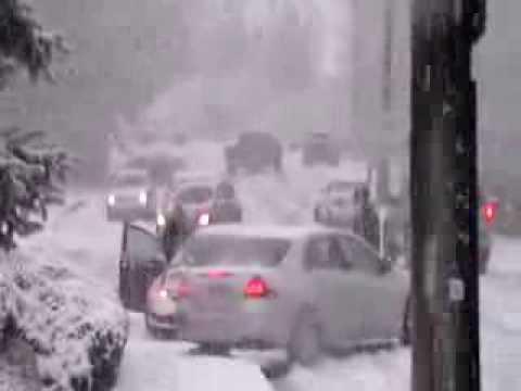 Самый сильный снегопад в США за последние 20 лет зима 2013-14