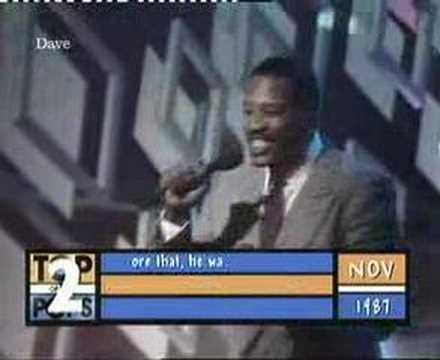 """Alexander O'Neal - """"Criticize"""" - Top Of The Pops"""