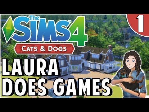 Sims 4 Cats & Dogs - Weight Lifting Terrier - Part 1
