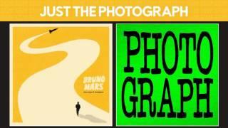 Just The Way You Are vs Photograph (Bruno Mars vs Ed Sheeran) MASHUP