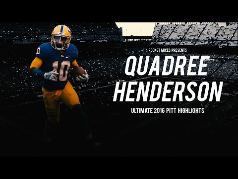 "Quadree Henderson Ultimate 2016 Pitt Highlights - ""0 to 100"""