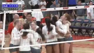 UTRGV Volleyball Takes Down CSU Bakersfield