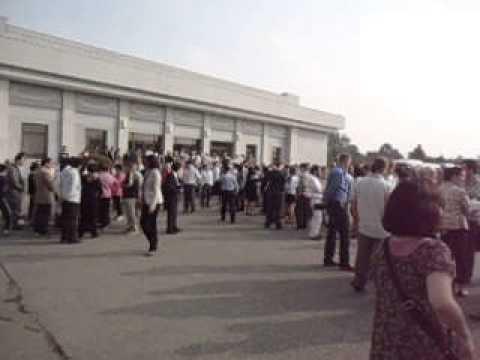 Kumsusan Palace of the Sun   Mausoleum Part 1   Pyongyang   North Korea   September 2013