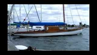 Alwyn, The 1923 Hobart A Class Classic At Hobsons Bay Yacht Club, Melbourne April 8 2012